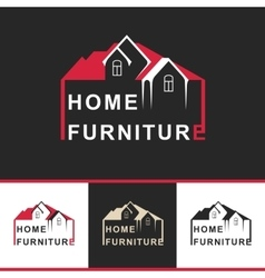 Symbol Home Furniture vector image