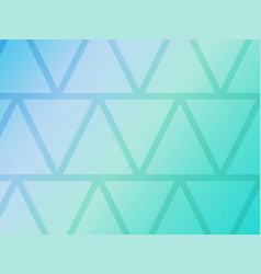 abstract blue background with geometric triangles vector image