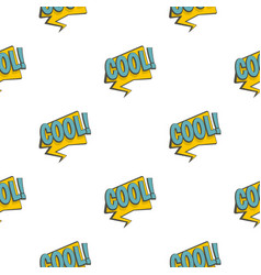 Cool speech bubble pattern seamless vector