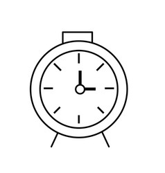 Line clock design to know the time vector