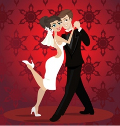 Love dance vector