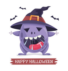 of halloween and helloween con vector image