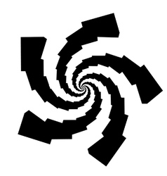 Psychedelic spiral vector
