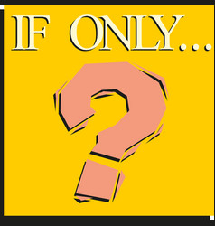 Question mark icon sign on a yellow background vector