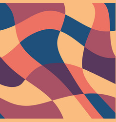 seamless wallpaper distorted grid vector image