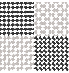Simple seamless moroccan pattern vector