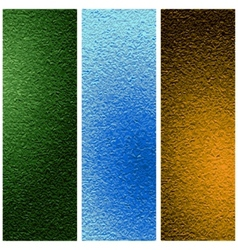 Texture set vector image