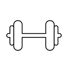 Weight metal heavy bodybuilding icon vector
