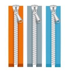 Clothes Zip Set vector image