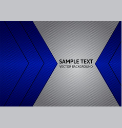 Abstract blue and gray background with copy space vector