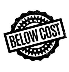 Below Cost rubber stamp vector