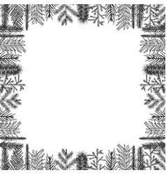 christmas framework vector image