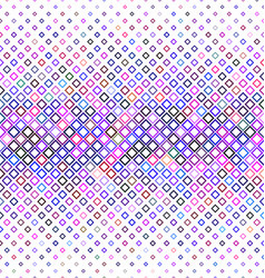Colorful abstract square pattern background vector image