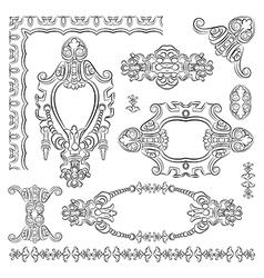 Design heraldic element vector