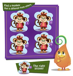 find a monkey vector image