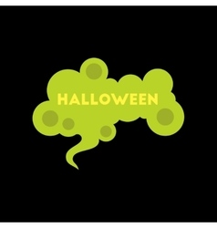 flat icon on background halloween sign vector image