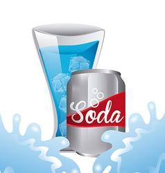 fresh soda vector image