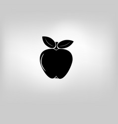 Icon apple vector