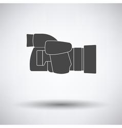 Icon of premium photo camera vector