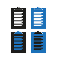 icon questionnaire simple flat vector image
