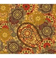 India ornament paisley and mehndi designs vector