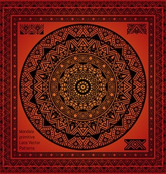 Mandala Hindu symbol vector