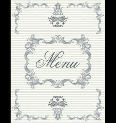 menu4 vector image
