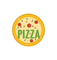 Pizza Restaurant Logo vector image