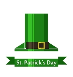 st patrick day geometry vector image