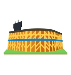 Stadium icon cartoon style vector image