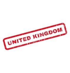 United Kingdom Rubber Stamp vector