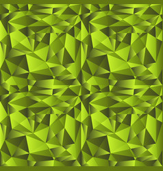 green gradient low poly background vector image vector image