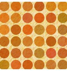 Orange abstract retro background vector image vector image