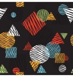 Pop art retro seamless background pattern vector image vector image