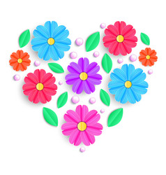Colorful greeting card vector