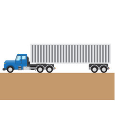 Colorful truck picture vector