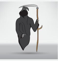 Death with scytheman vector