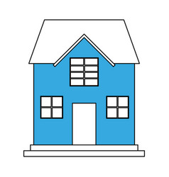 Family house icon image vector