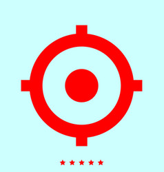 gps outline it is icon vector image
