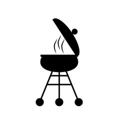 Grill picnic cooking food vector