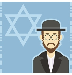 Jew icon 1 vector