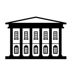 museum vector image