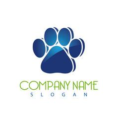 paws logo vector image
