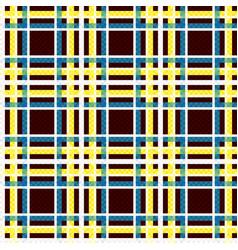 Seamless checkered bright texture vector