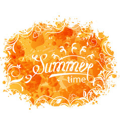 summer background holidays design and vector image