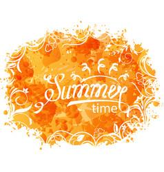 summer background of holidays design vector image