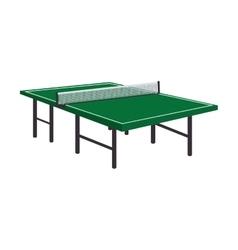 Table tennis ping pong vector