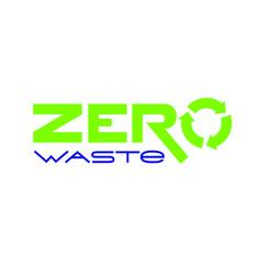 zero waste emblem vector image