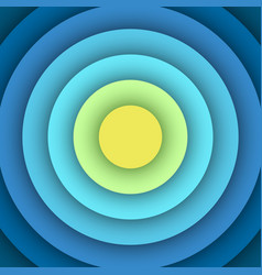 Abstract background with round layers vector image vector image