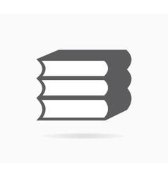 Book icon or logo vector image vector image